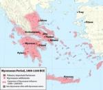 پاورپوینت کامل و جامع با عنوان بررسی تاریخ تمدن میسنی ها در 15 اسلاید