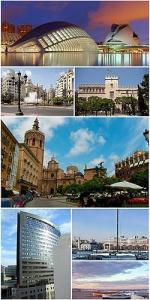 پاورپوینت کامل و جامع با عنوان بررسی شهر والنسیا (Valencia) در 18 اسلاید